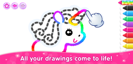 Kids Drawing Games for Girls! Apps for Toddlers! v1.5.0.14 (Unlocked)