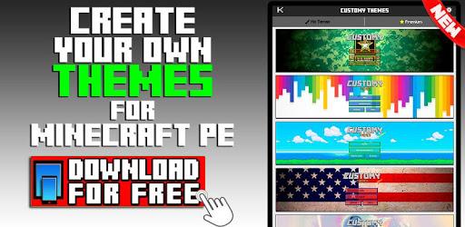 Customy Themes for Minecraft PE v1.29 (Premium)