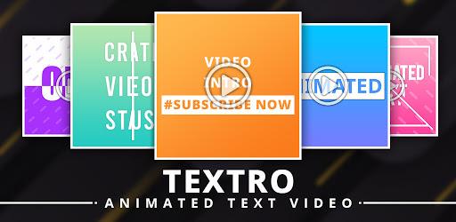 Textro: Animated Text Video v1.1 (Unlocked)