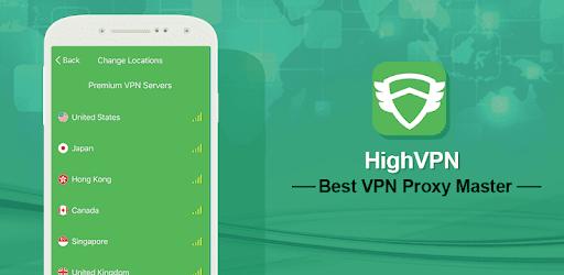 HighVPN- Best VPN Proxy Master for WiFi Security v1.4.2 (Premium)