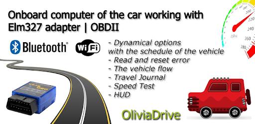 Car Computer – Olivia Drive | ELM327 OBD2 v20.115 (Full)