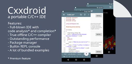 Cxxdroid – C++ compiler IDE for mobile development v3.1 (Premium)