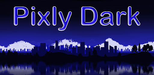 Pixly Dark – Icon Pack 2.4.5 (Patched)