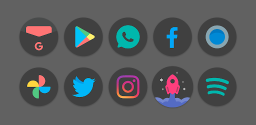 Black Pie – Icon Pack 1.8 (Patched)