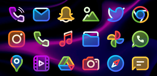 AlineT Icon Pack – linear icons 2.1 (Patched)