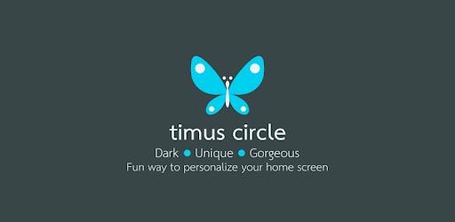 Timus Circle Dark Icon Pack 6.0 (Patched)
