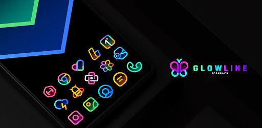 GlowLine Icon Pack 1.4 (Patched)