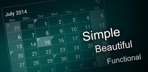Calendar Widget MOD APK 1.32 (Unlocked)