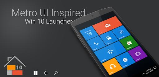 Win 10 Launcher MOD APK 8.15 (Pro)