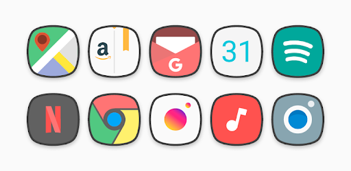 Flat Squircle – Icon Pack v3.3 (Patched)
