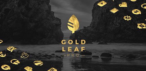 Gold Leaf Pro – Icon Pack 3.3.3 (Patched)