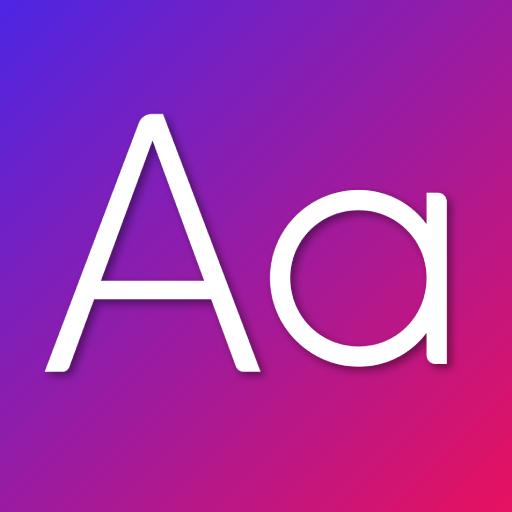 Fonts Aa MOD APK 18.2.1 (Premium)