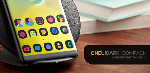 ONE UI DARK Icon Pack v3.4 (Patched)