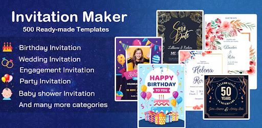 Invitation maker 2020 Birthday & Wedding card 2.0 (Premium)