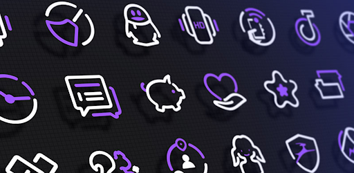 PurpleLine Icon Pack 3.3 (Patched)