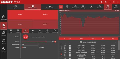 OCCT System Test v9.0.4 (Full Version)