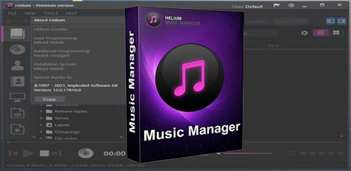 Helium Music Manager v15.0 Build 17816 (Premium)